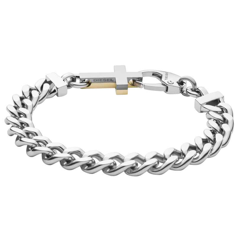 Diesel DX1251040 Men's Bracelet Cross Two-Colour 4048803099575