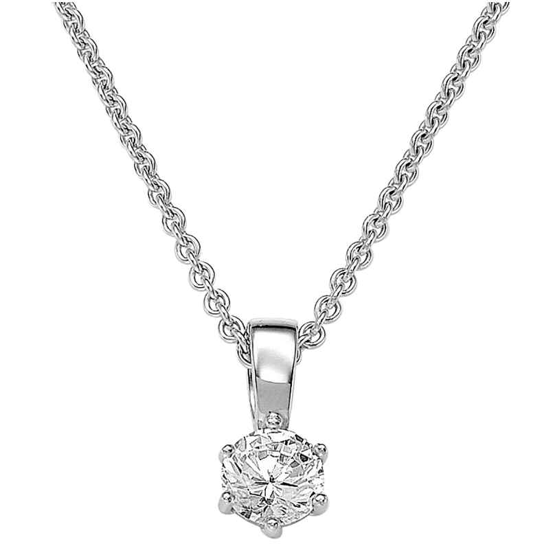 Viventy 696882 Women's Necklace Silver with Cubic Zirconia 4049474620006