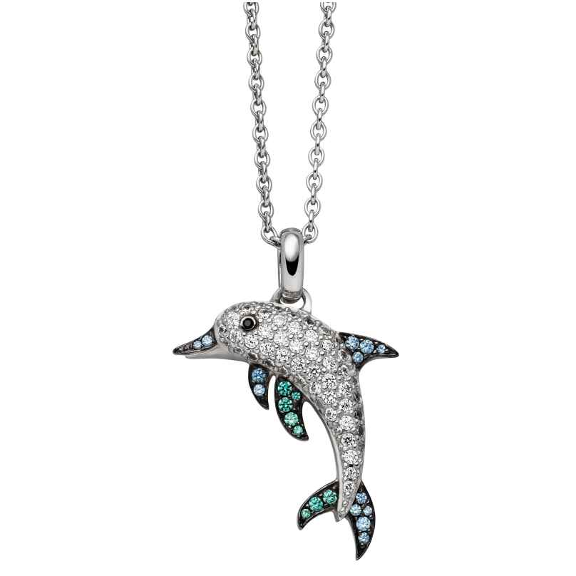 Viventy 781242 Silber-Halskette für Frauen Delfin 4043885205647
