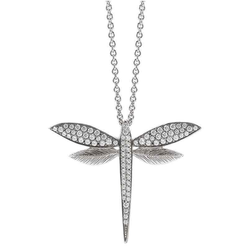 Viventy 781892 Damen-Collier aus Silber Libelle 4043885202462