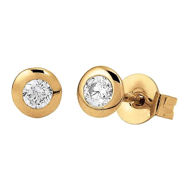 Viventy 781424 Ladies´ Stud Earrings Gold-Plated 4043885252009