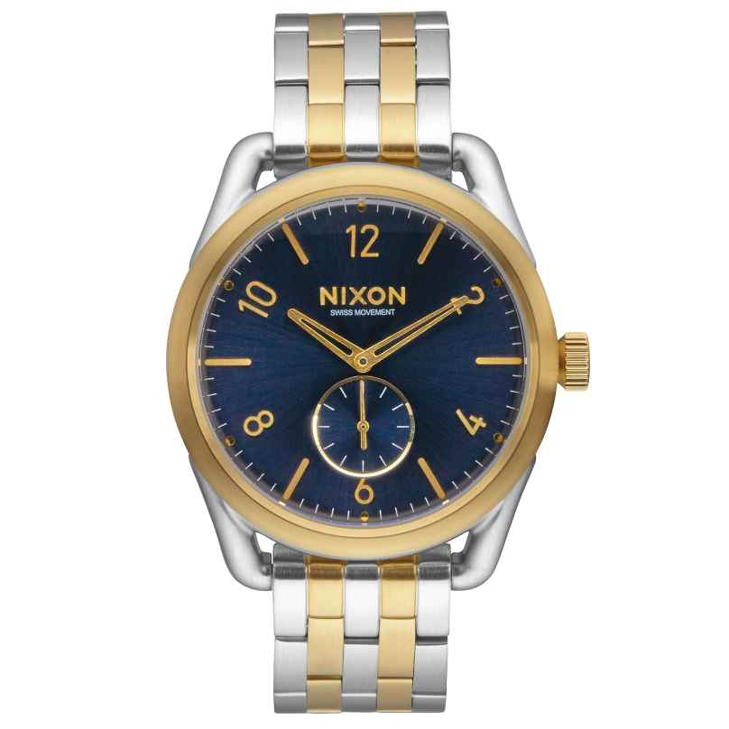 Nixon A950 1922 C39 Gold/Blue Sunray Herrenuhr 3608700747637