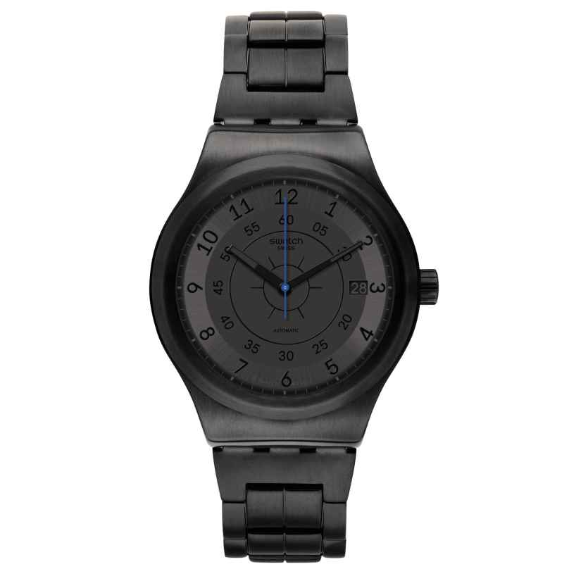 Swatch YIB401G Men's Automatic Watch Sistem Dark 7610522790971