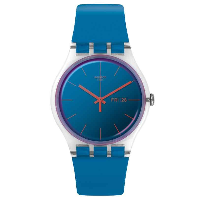 Swatch SUOK711 Damenarmbanduhr Polablue 7610522799905