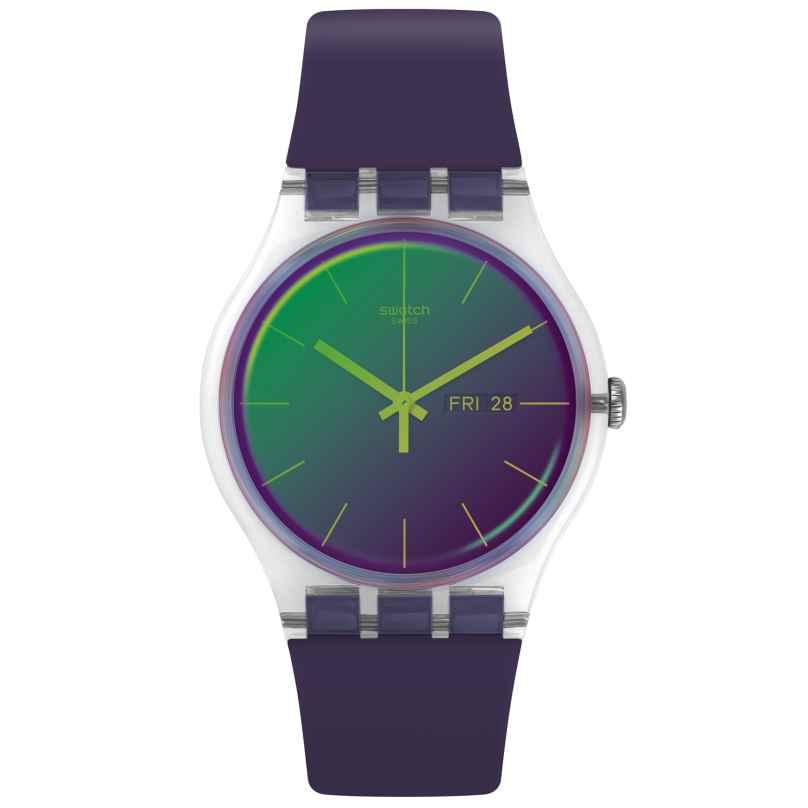 Swatch SUOK712 Armbanduhr Polapurple 7610522799912
