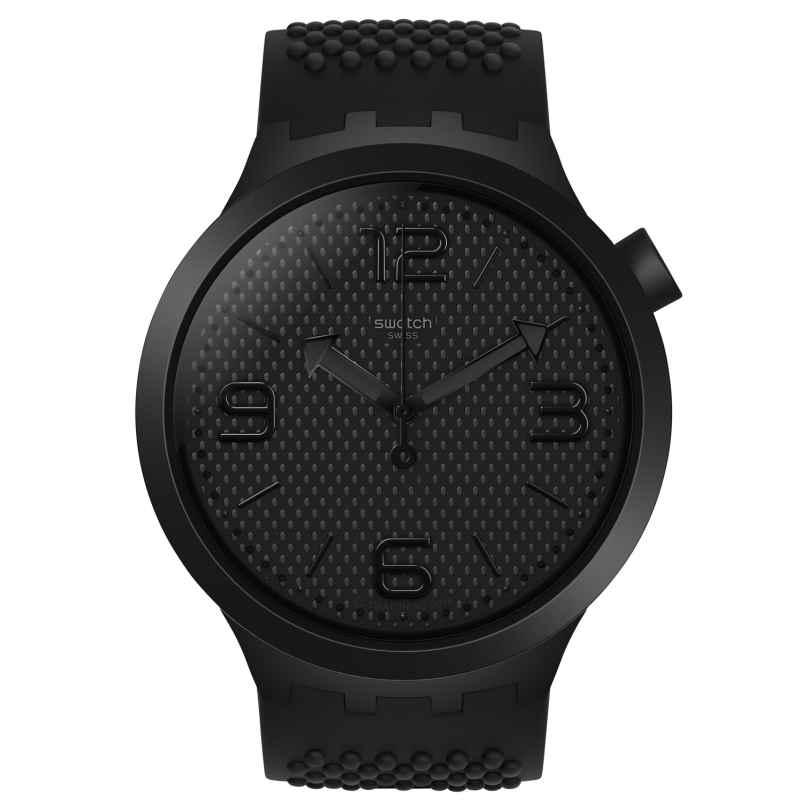 Swatch SO27B100 Big Bold Armbanduhr BBBlack 7610522812918