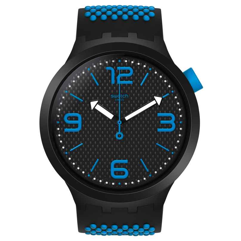 Swatch SO27B101 Big Bold Armbanduhr BBBlue 7610522812925