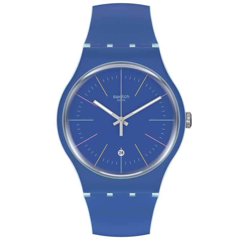 Swatch SUOS403 Wristwatch Blue Layered 7610522822450