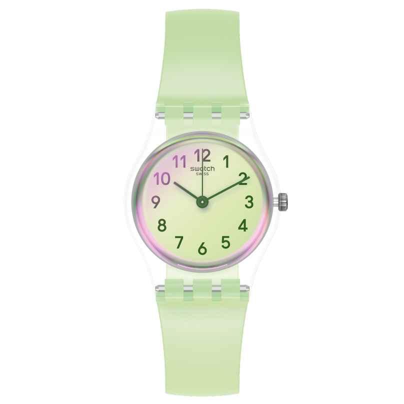 Swatch LK397 Damenuhr Casual Green 7610522822344