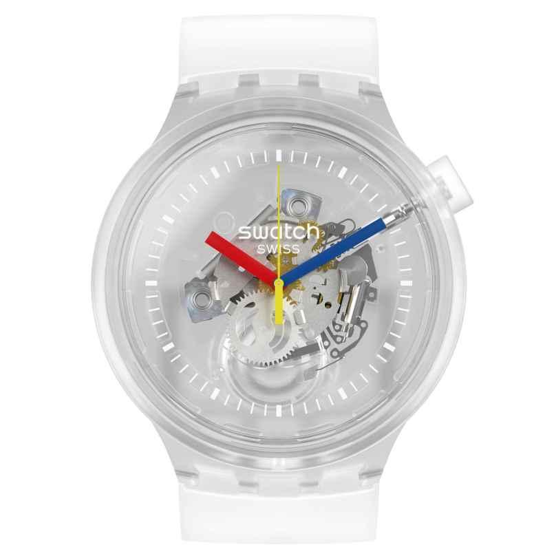 Swatch SO27E100 Big Bold Armbanduhr Jellyfish 7610522825185