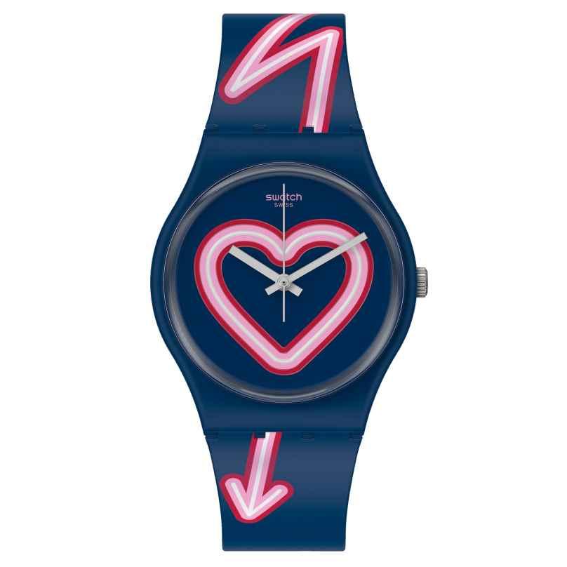 Swatch GN267 Damenuhr Flash of Love 7610522823709