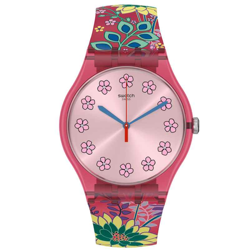 Swatch SUOP112 Damenuhr Dhabiscus 7610522825307