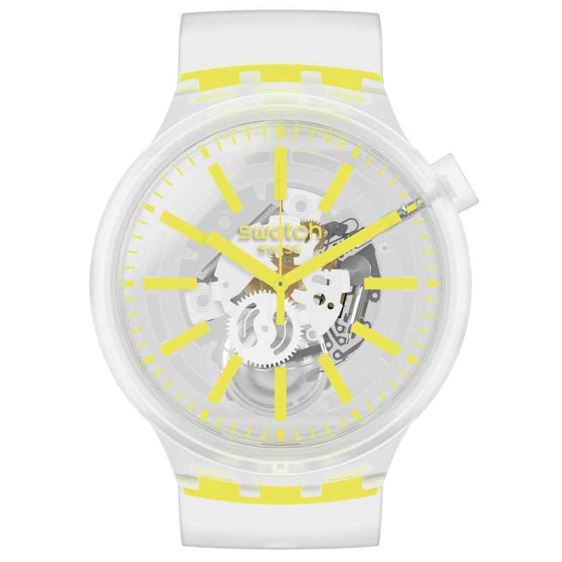 Swatch SO27E103 Big Bold Armbanduhr Yellowinjelly 7610522827783