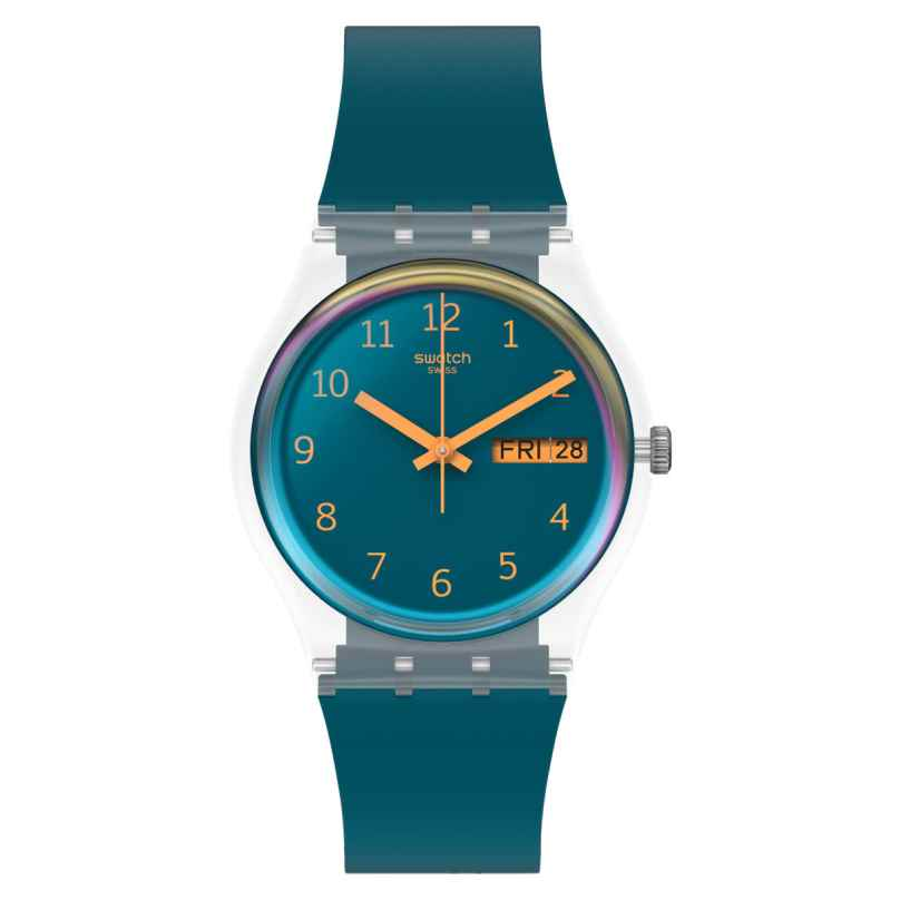 Swatch GE721 Armbanduhr Blue Away 7610522823730