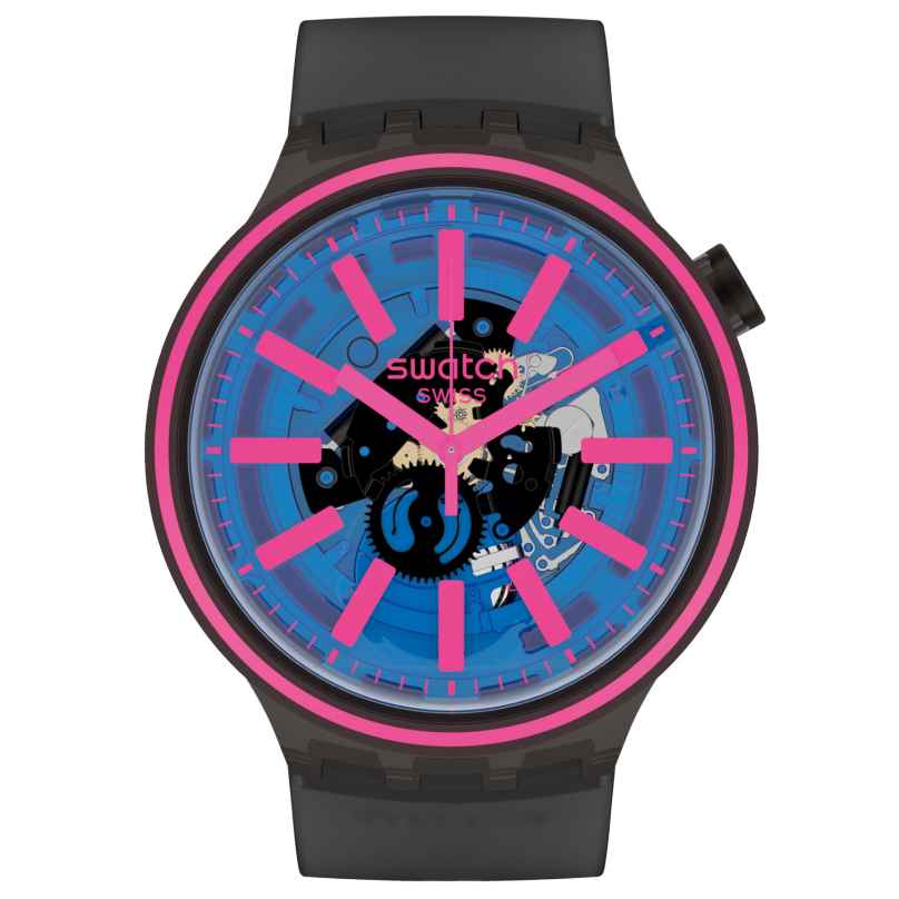 Swatch SO27B111 Big Bold Armbanduhr Blue Taste 7610522830165
