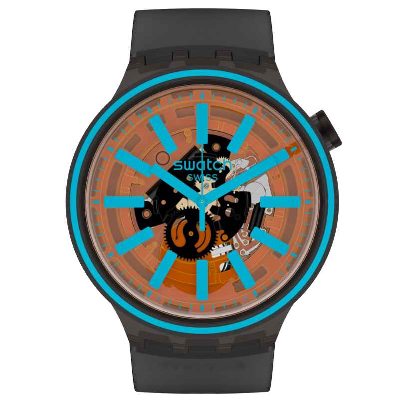 Swatch SO27B112 Big Bold Wristwatch Fire Taste 7610522830172