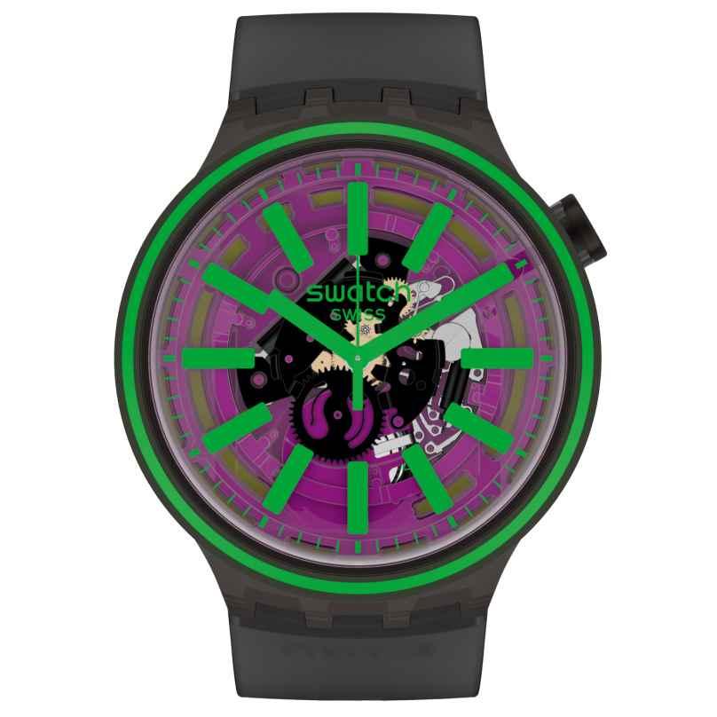 Swatch SO27B113 Big Bold Wristwatch Pink Taste 7610522830189