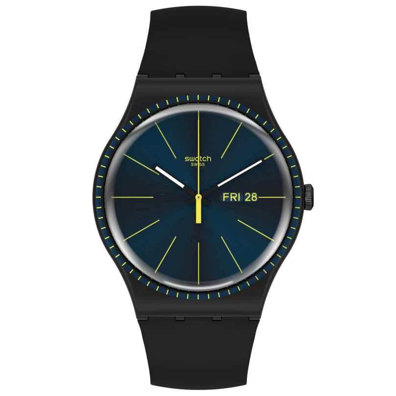 Swatch SUOB731 Armbanduhr Black Rails 7610522830813