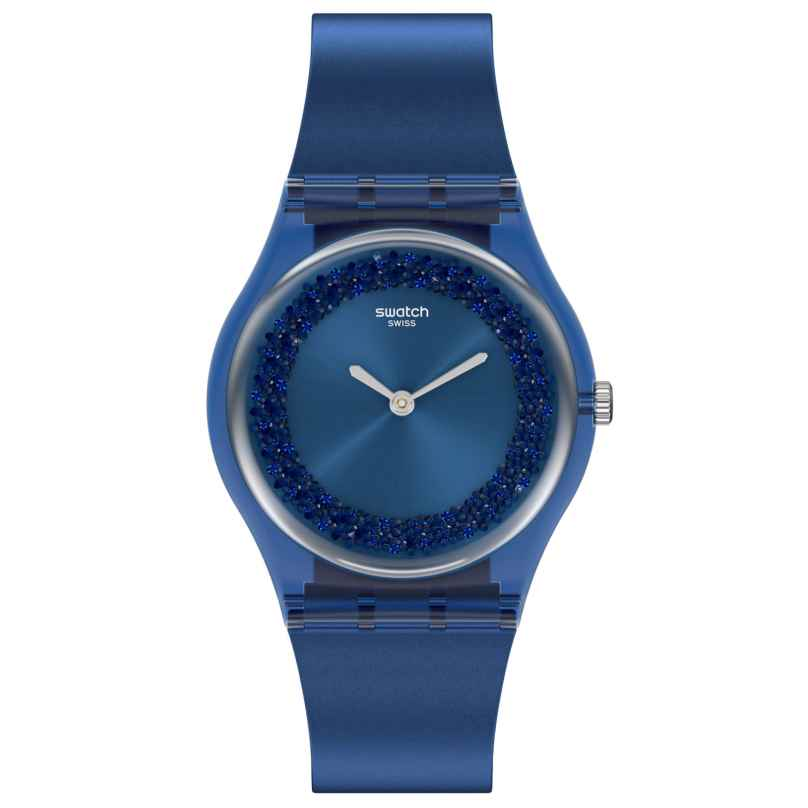 Swatch GN269 Damenuhr Sideral Blue 7610522831421