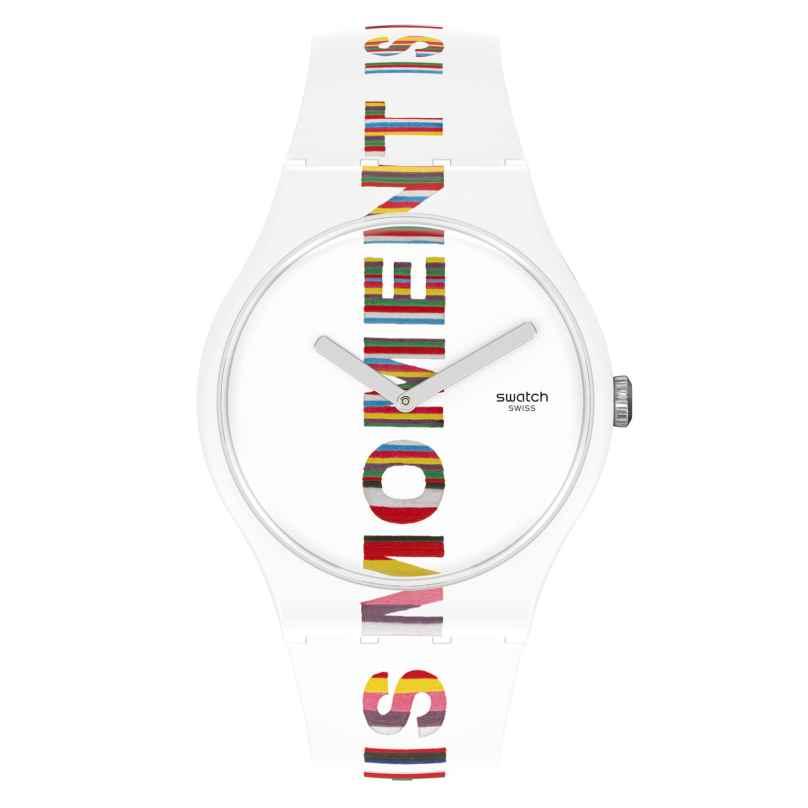 Swatch SUOZ330 Armbanduhr Time's Magic 7610522831872