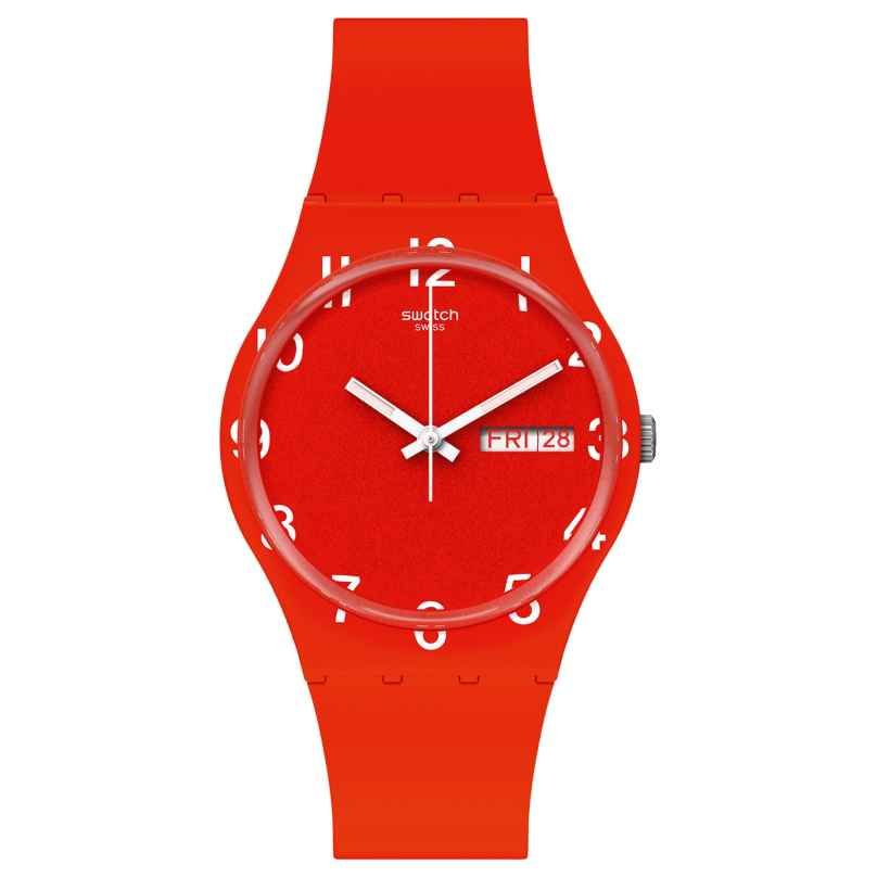 Swatch GR713 Armbanduhr Over Red 7610522833258
