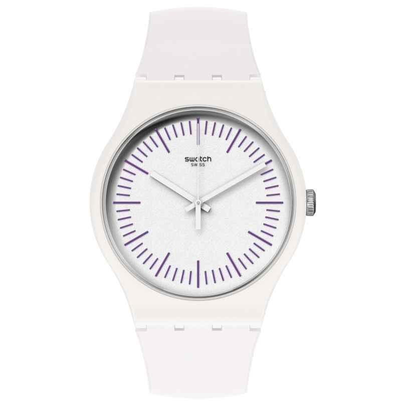 Swatch SUOW173 Uhr Whitenpurple 7610522833777