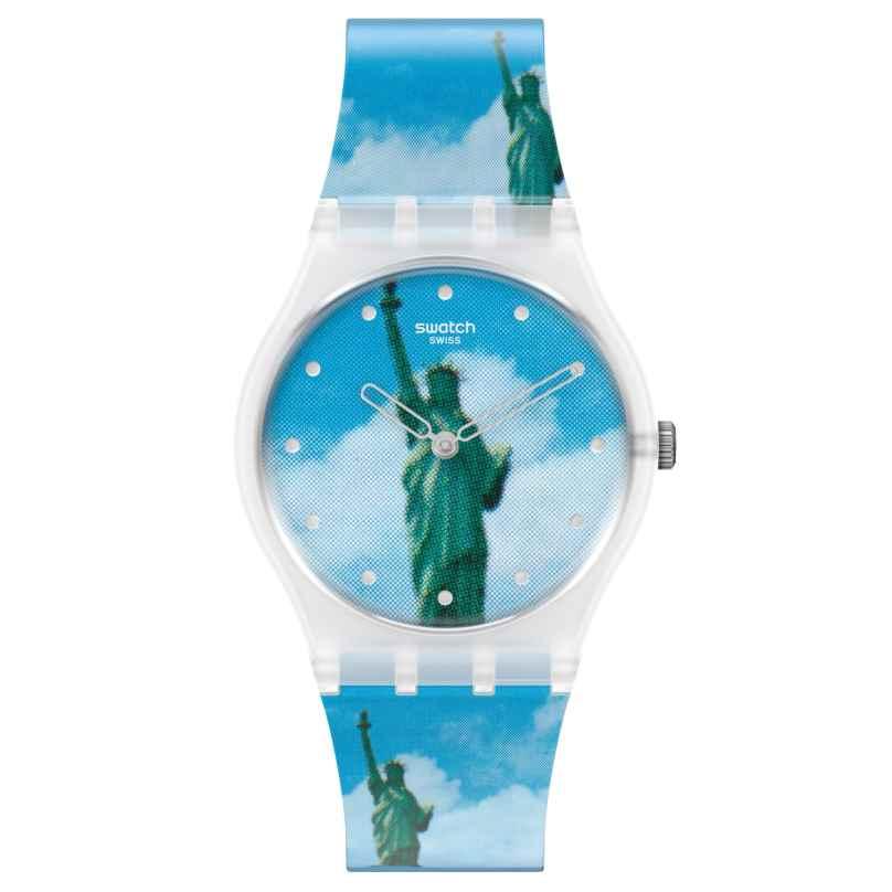 Swatch GZ351 Armbanduhr New York by Tadanori Yokoo, The Watch 7610522833043