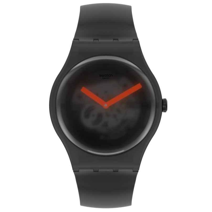 Swatch SUOB183 Armbanduhr Black Blur Schwarz 7610522835825