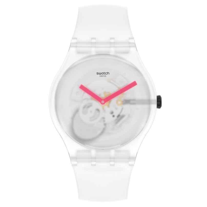 Swatch SUOW172 Armbanduhr Snow Blur Weiß 7610522835818