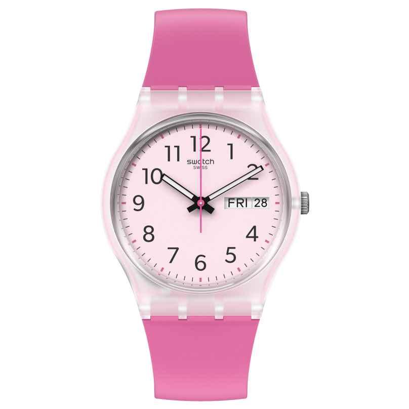 Swatch GE724 Damenuhr Rinse Repeat Pink 7610522837065