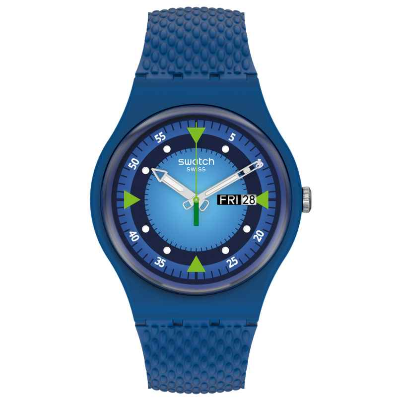 Swatch SO29N701 Armbanduhr Blue Blend 7610522837157