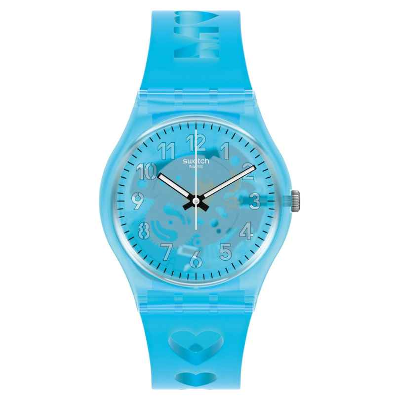 Swatch GZ353 Damenuhr Love from A to Z 7610522835337