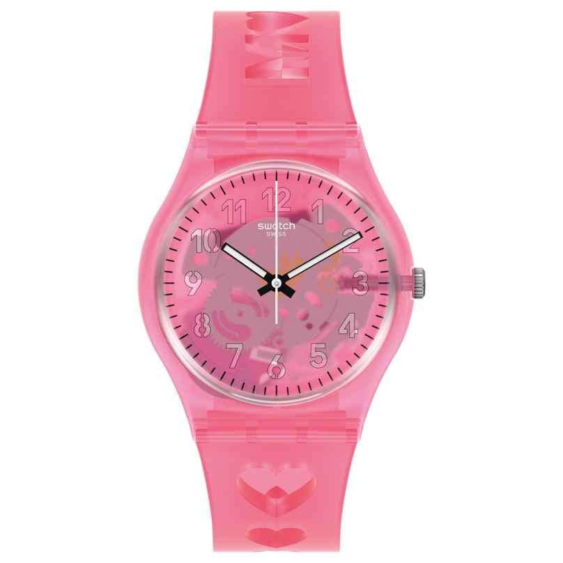 Swatch GZ354 Women's Watch Love With All The Alphabet 7610522835344