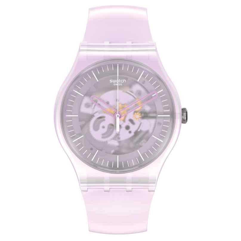 Swatch SUOK155 Damen-Armbanduhr Pink Mist 7610522837737