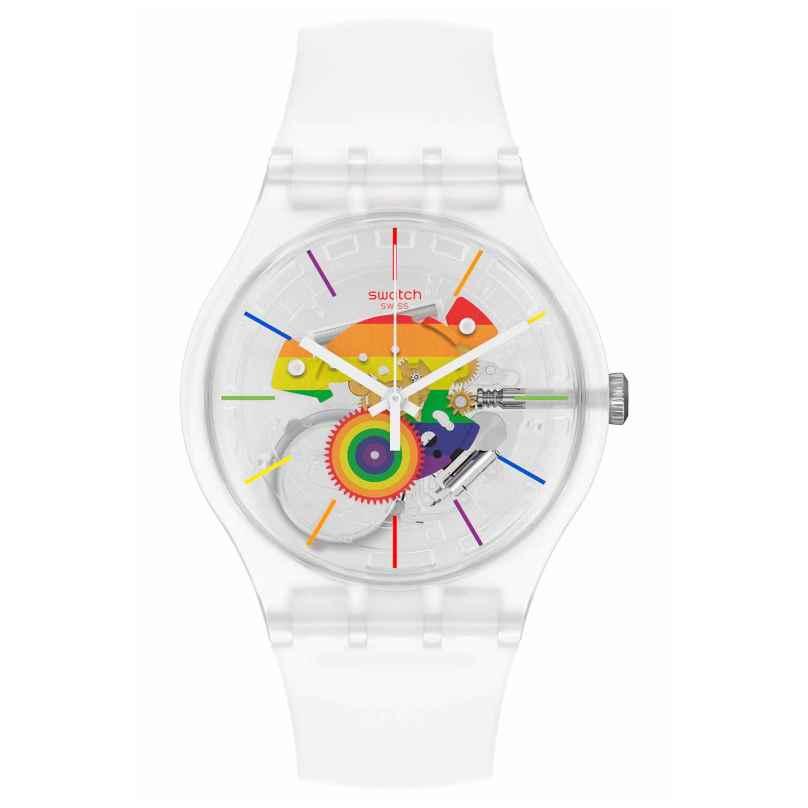 Swatch SO29K103 Armbanduhr Alla Parata 7610522838116