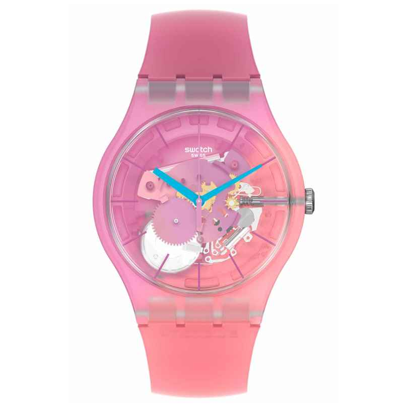 Swatch SUOK151 Armbanduhr Supercharged Pinks 7610522839090