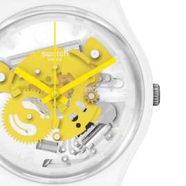 Swatch SO31W105 Wristwatch Time To Yellow Small