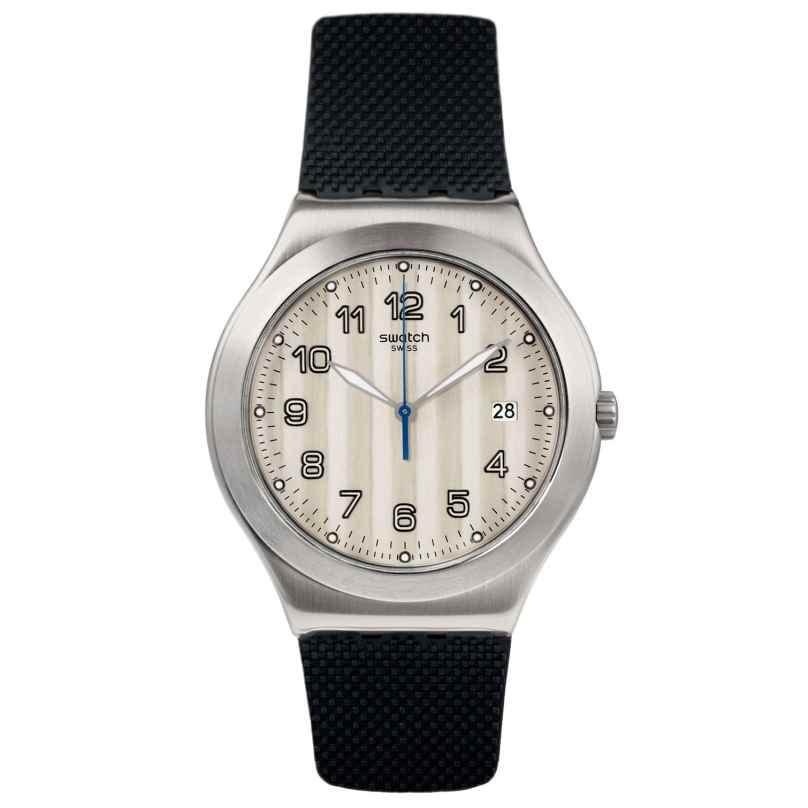 Swatch YWS437 Herrenuhr Côtes Silver 7610522791879