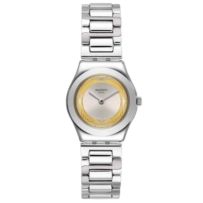 Swatch YSS328G Damenuhr Golden Ring 7610522800663