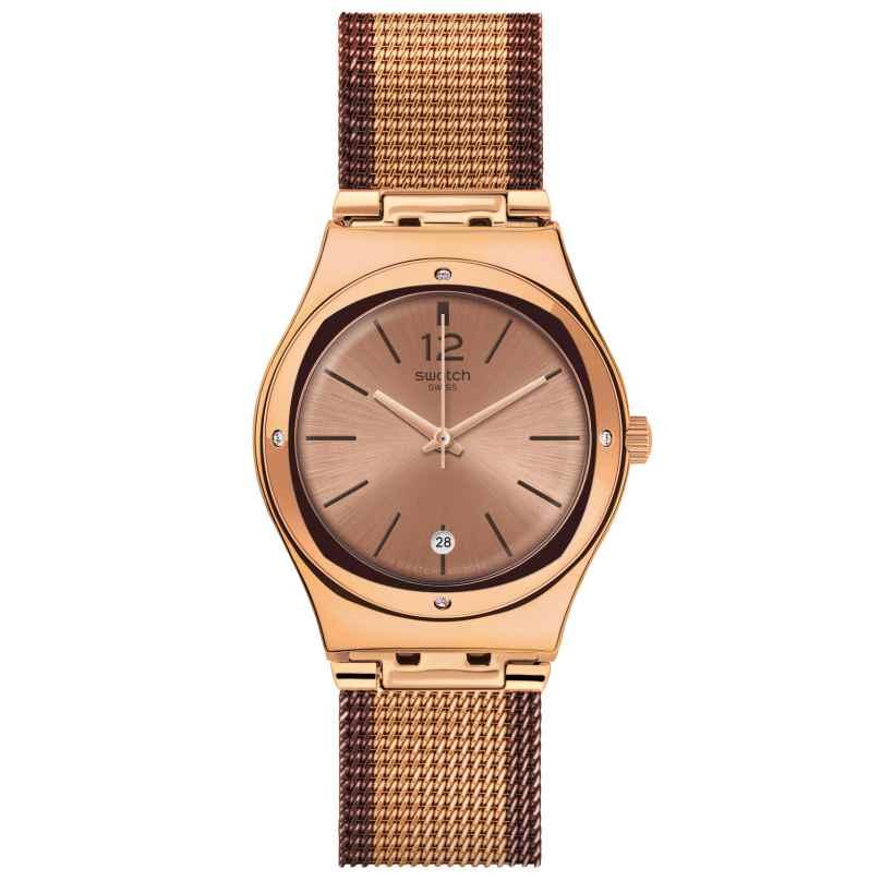 Swatch YLG408M Damenarmbanduhr Full Rose Jacket 7610522800649