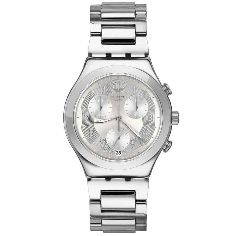 Swatch YCS604G Herrenarmbanduhr Chronograph Silver Ring 7610522800625