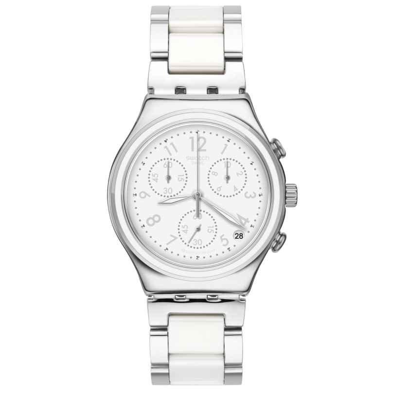 Swatch YCS603G Irony Damenuhr Chronograph Snowdream 7610522809628