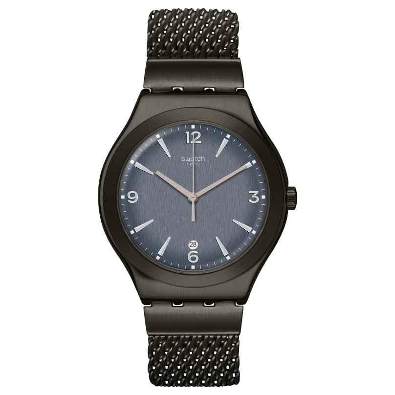 Swatch YWM403M Unisex-Armbanduhr Irony Mesh O´Light 7610522822368