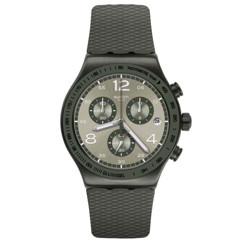 Swatch YVM404 Irony Herrenuhr Chronograph Turf Wrist 7610522823273