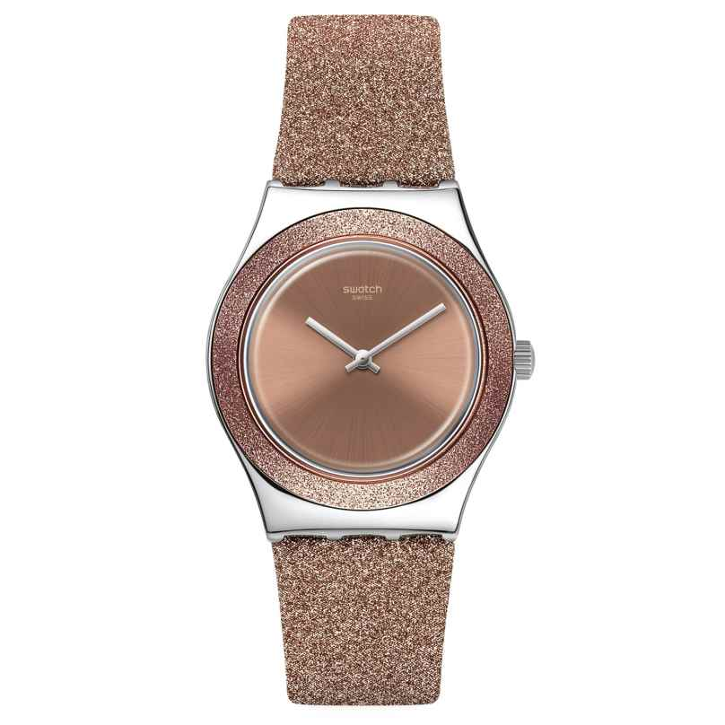 Swatch YLS220 Irony Damenuhr Rose Sparkle 7610522831483