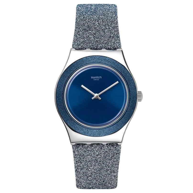 Swatch YLS221 Irony Damenuhr Blue Sparkle 7610522831506