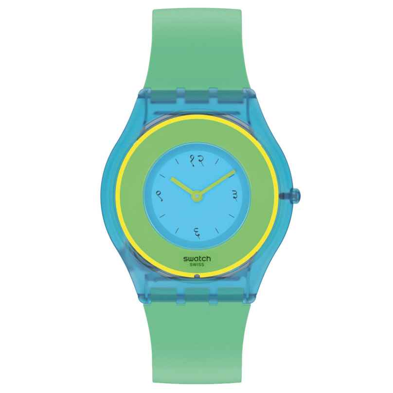 Swatch SS08Z100 Skin Damenuhr Hara Green 01 7610522837775