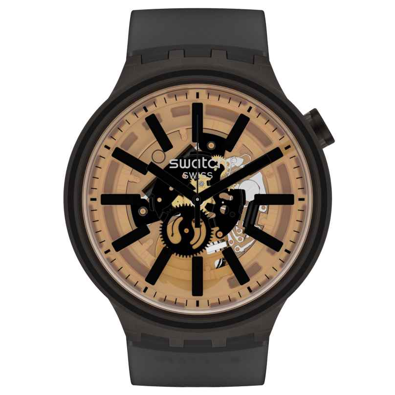 Swatch SO27B115 Big Bold Armbanduhr Dark Taste 7610522830493