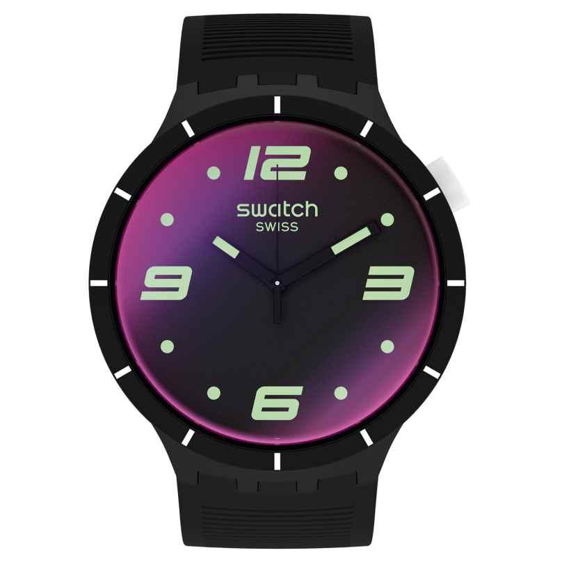 Swatch SO27B119 Herrenuhr Big Bold Futuristic Black 7610522834637