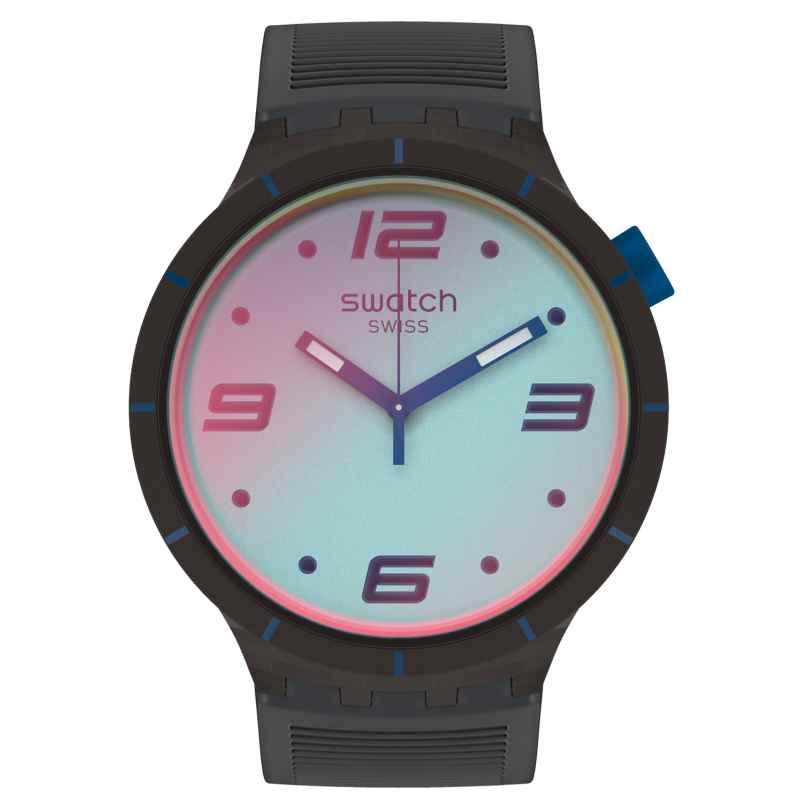 Swatch SO27B121 Men's Watch Big Bold Futuristic Grey 7610522834705